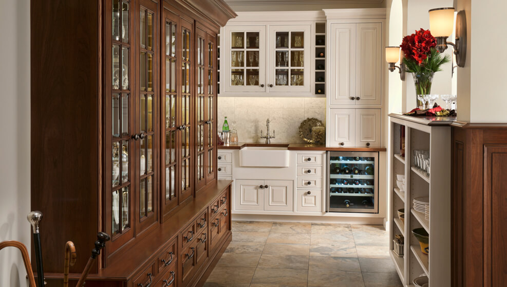 Wood-Mode Cabinets Elegant Traditions