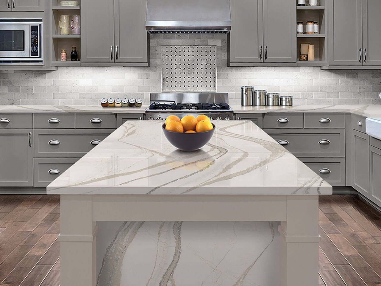 Cambria Counters | Complete Kitchen Design of MI