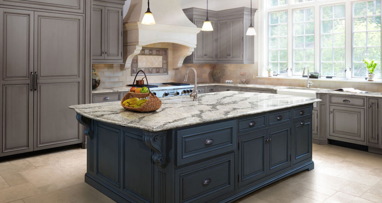 Custom countertops complete kitchen design of mi for Custom kitchen design