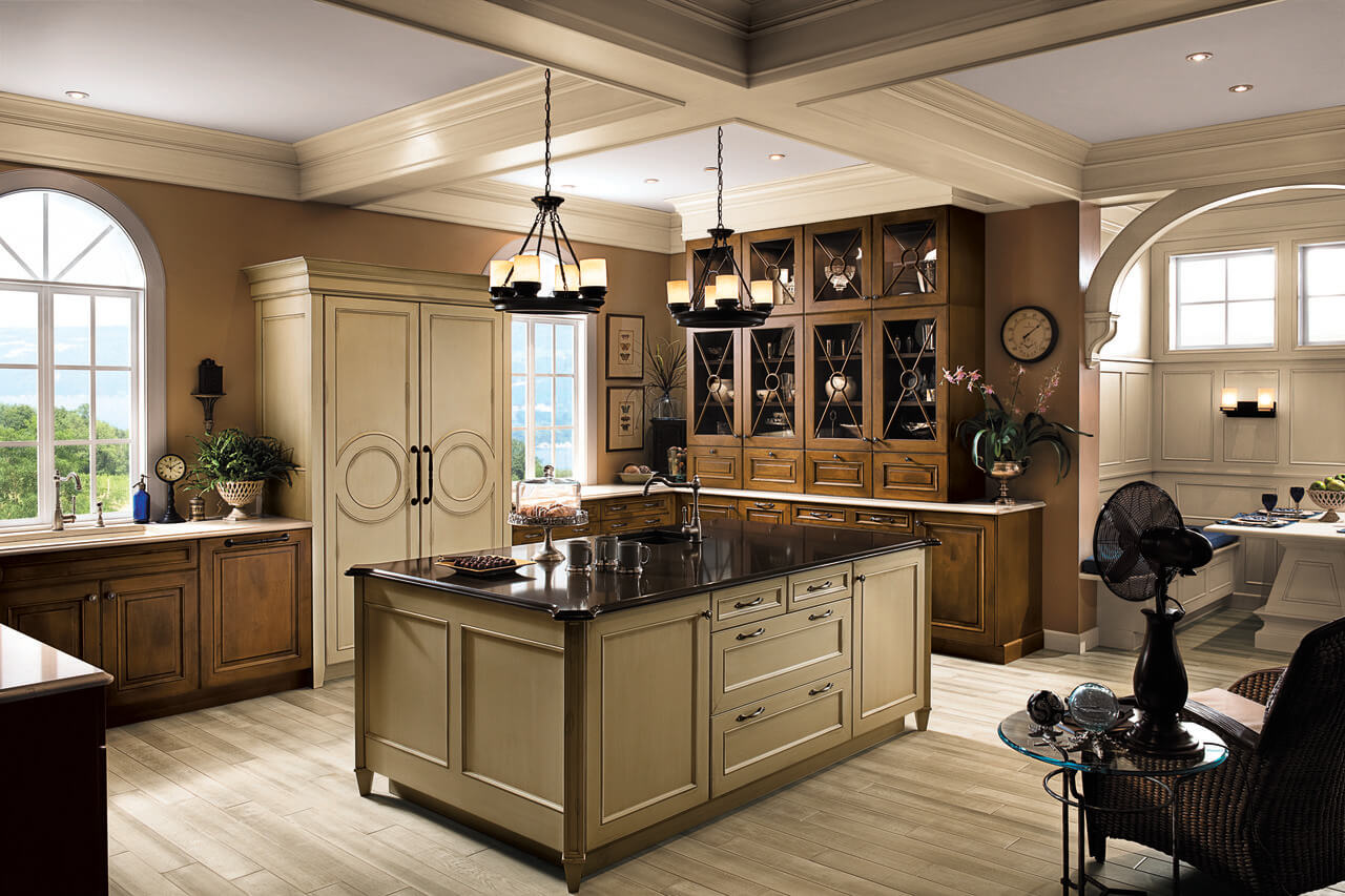 maple over furniture wood mode chicago cabinets kitchens grade cabinetry plywood cabinet brookhaven better interior